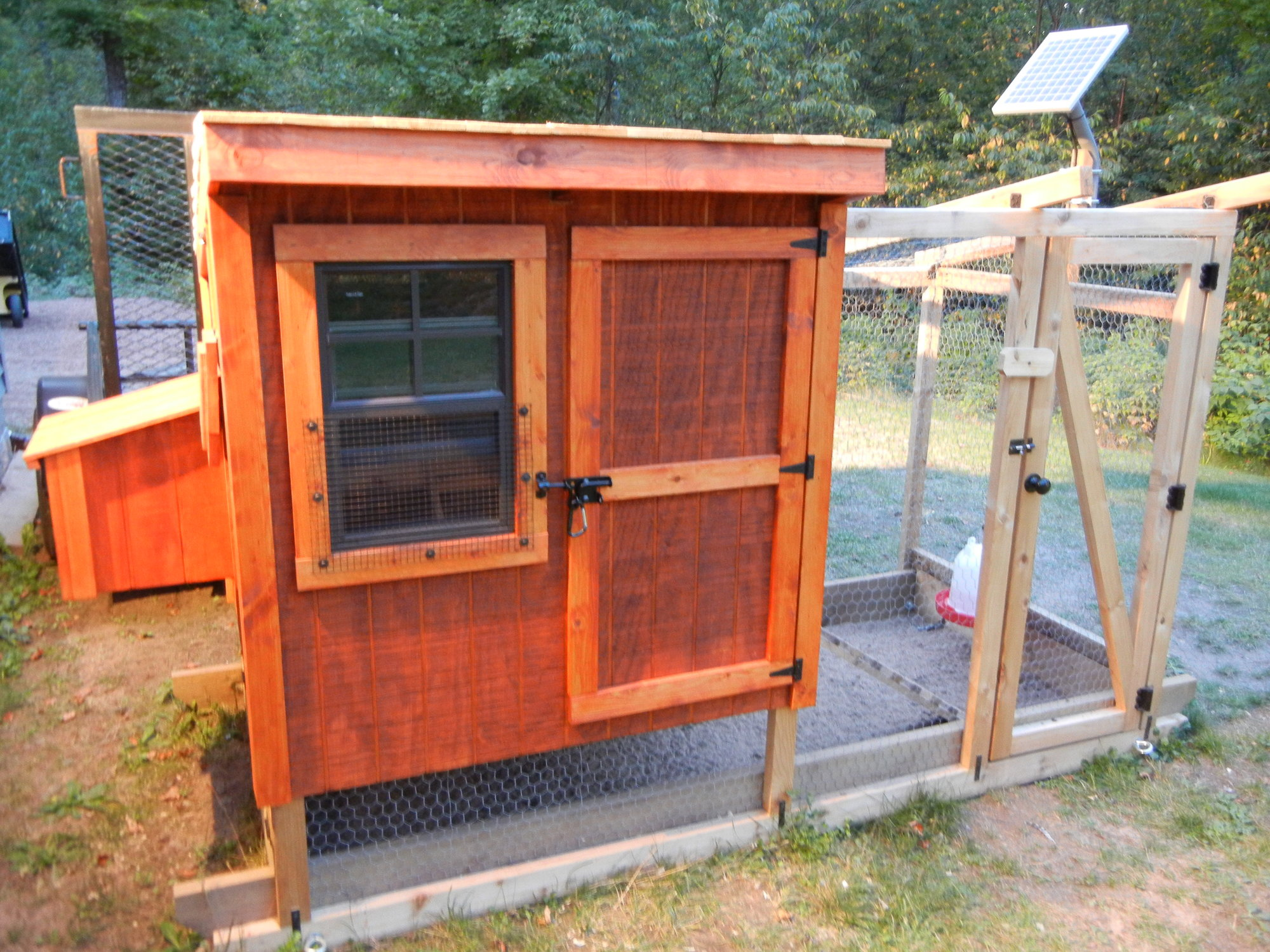 Diy Automatic Chicken Coop Door With Timer Solar Charger