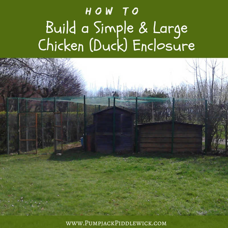 Build a Simple and Large Chicken Duck enclosure post_PumpjackPiddlewick.jpg