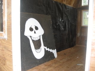 100_0008-4.jpg tar paper, and the halloween OSB for the wall picture by gopherboypeeps