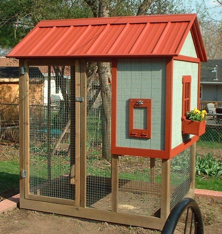 Playhouse Chicken Coop - BackYard Chickens Community