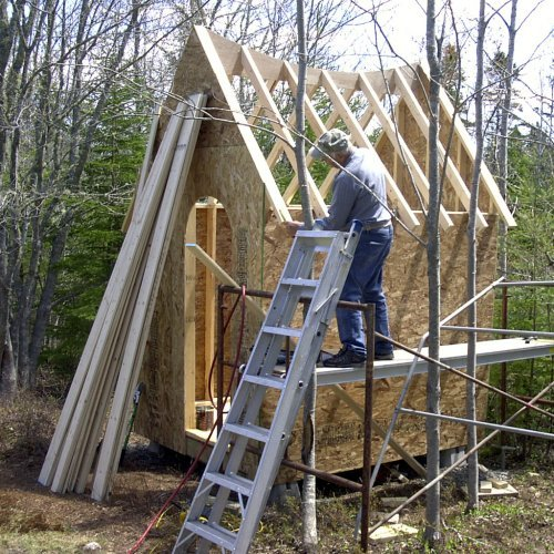 frame and roof structure