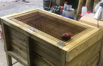 Homemade Brooder