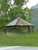 Predator proof wire corn crib for run | BackYard Chickens ...