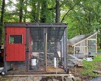Questions on polycarb roof and gravel run | BackYard Chickens