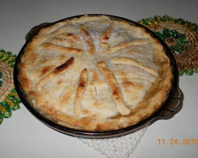 216 And 3 4 Pie Crust