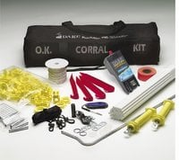 Portable Electric Fence Paddock - O.K. Corral Kit