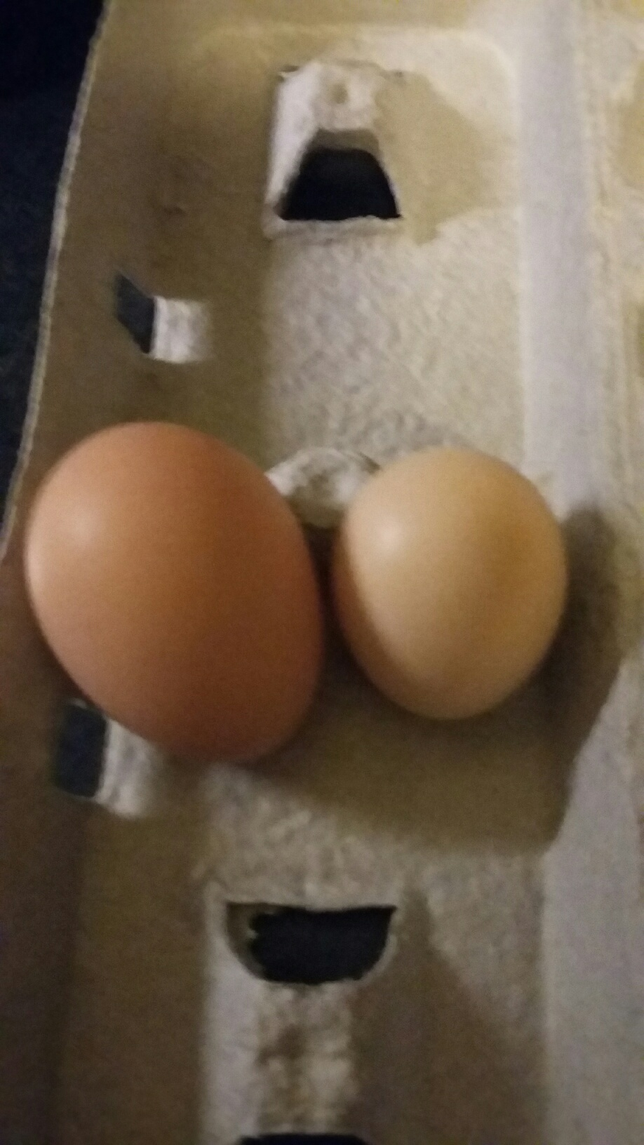 Another double yoke from Ruby!