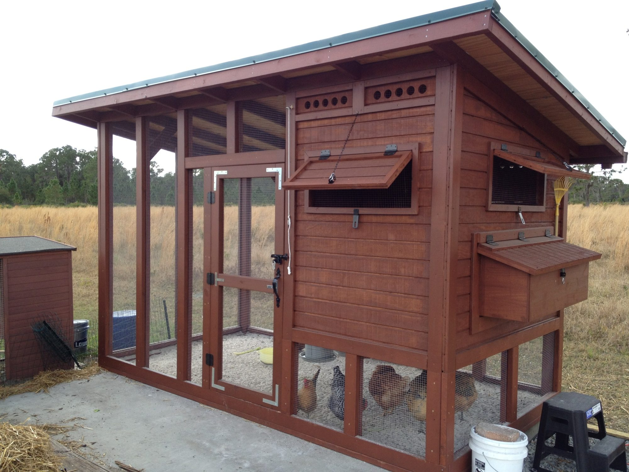 """The Palace"" Chicken Coop"