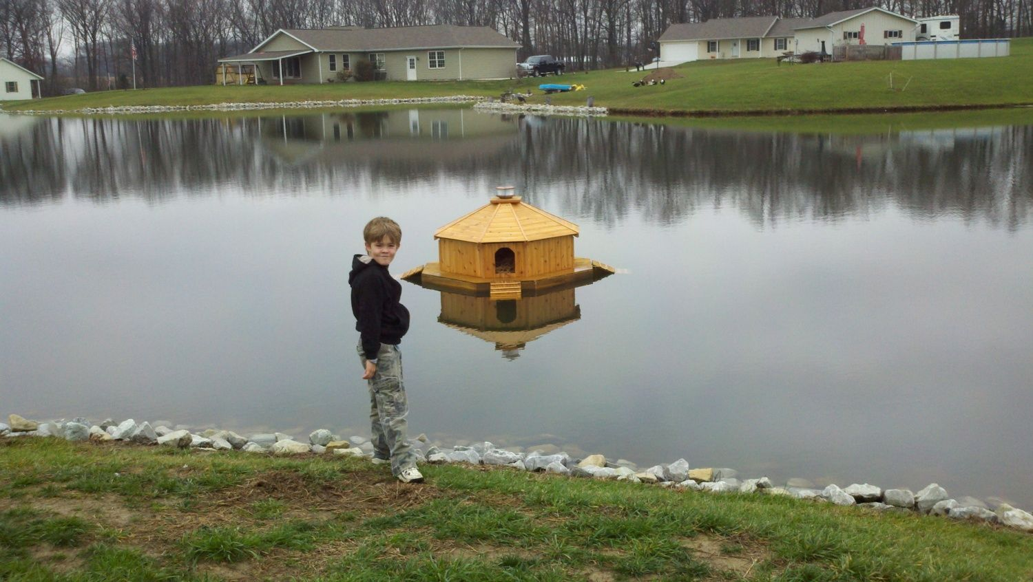 Diy Floating Duck Palace