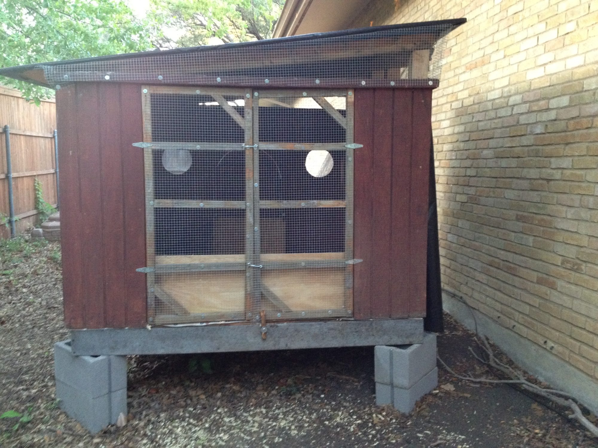 drafty chicken coop 2