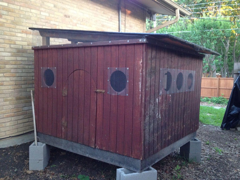 drafty chicken coop 1