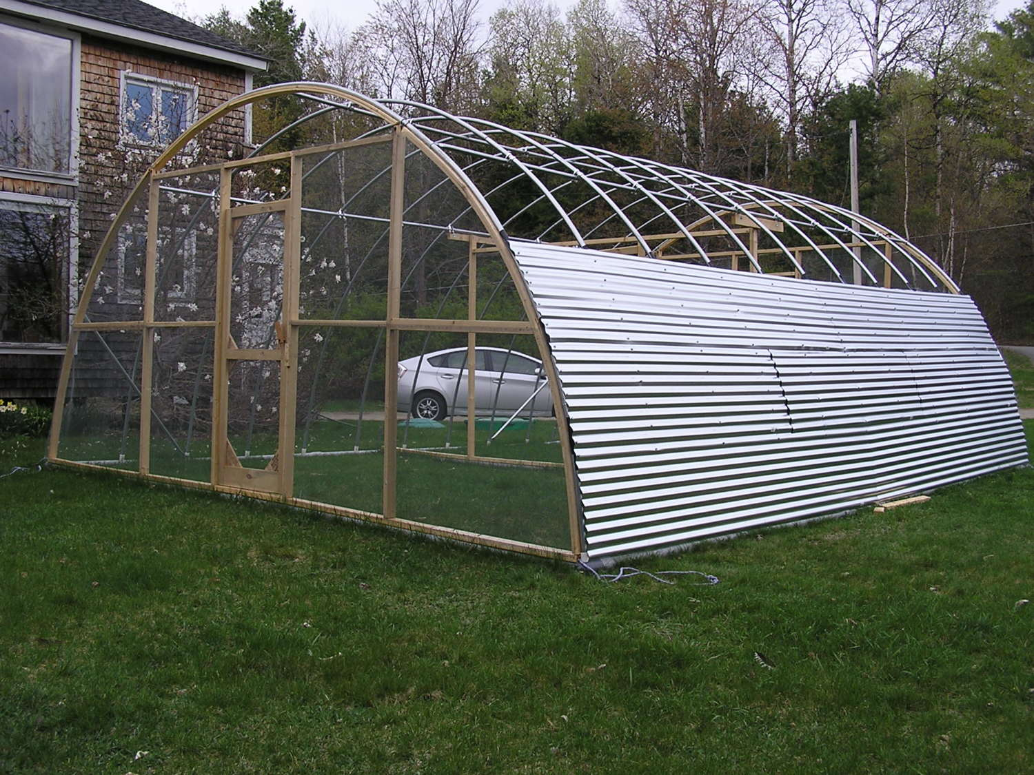 Citaten Hoop House : Our hoop house chicken tractor page