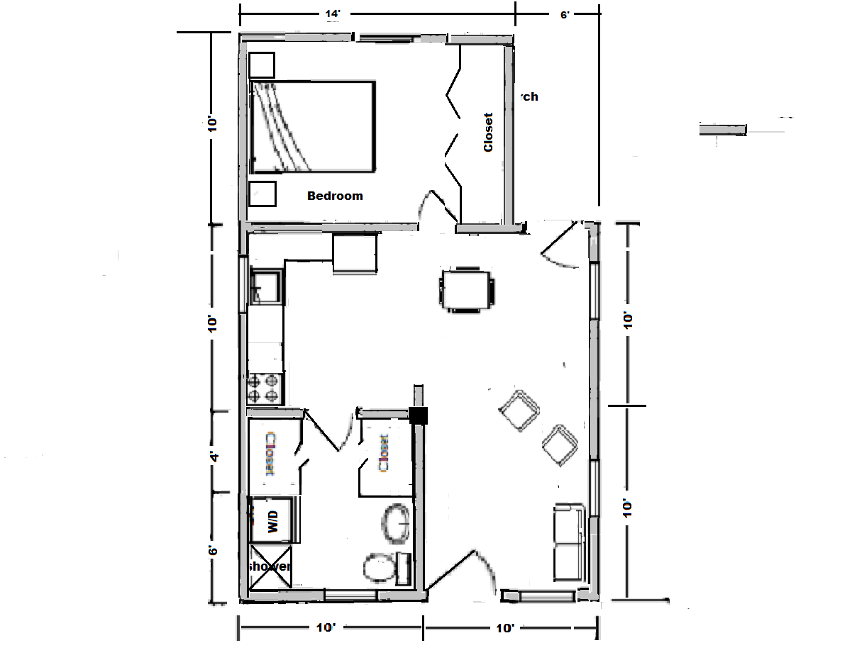 20x20 Home Floor Plan Quotes