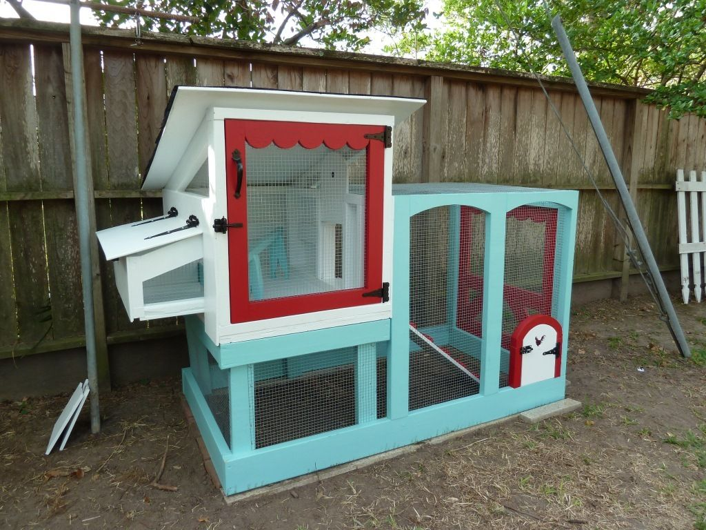 Not your grandfather's chicken coop