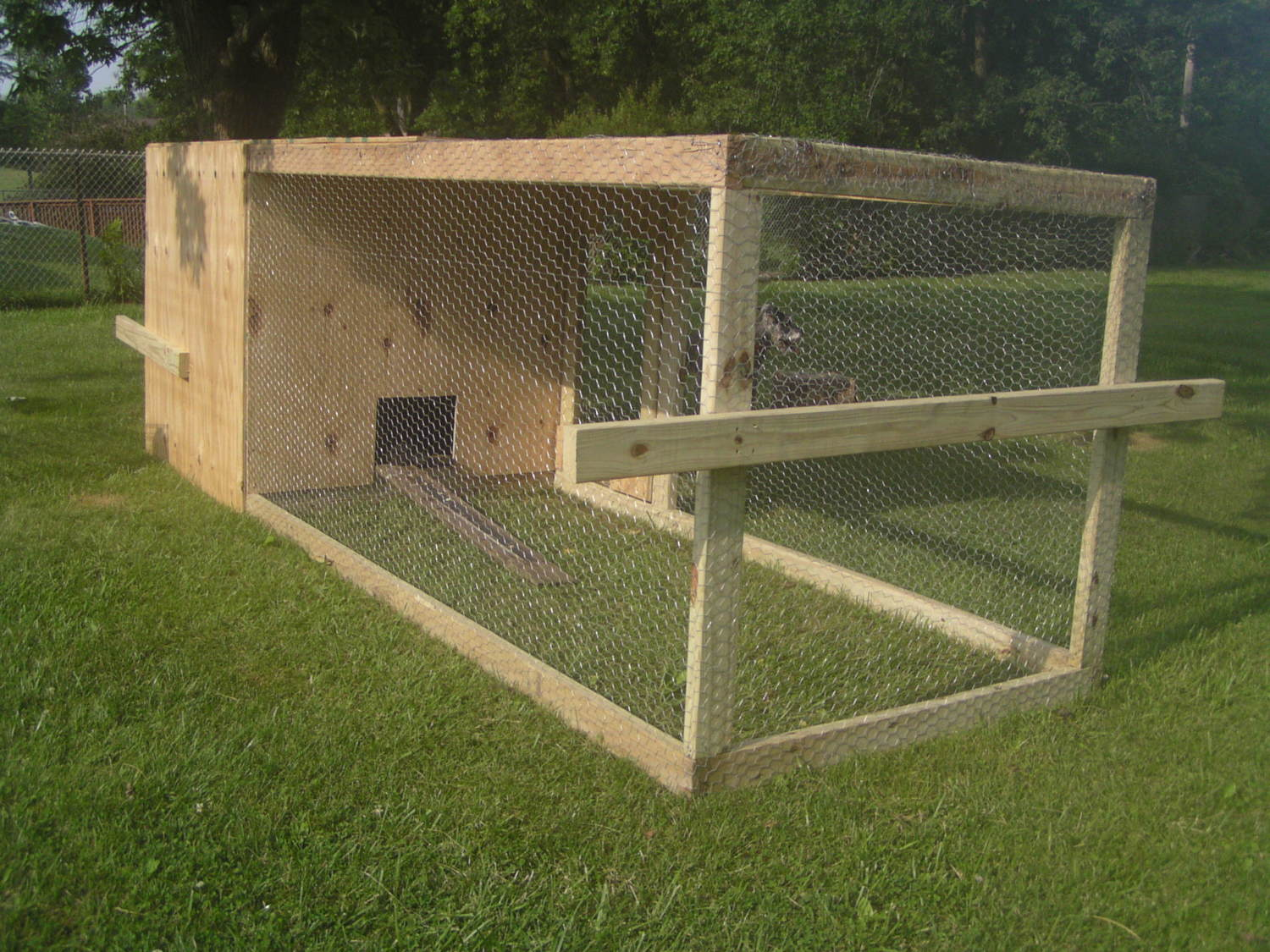 Newbie Needs Advice For Building A Chicken Tractor Coop
