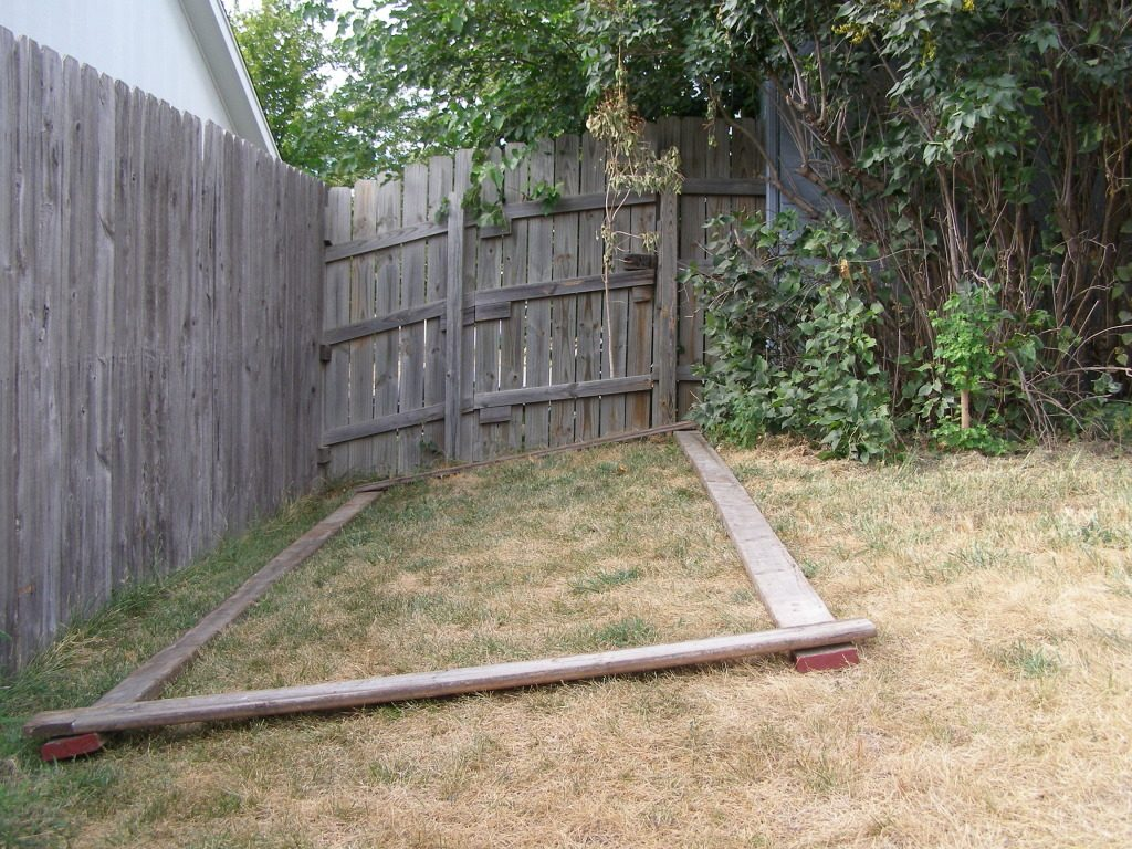 first time building advice on sloped terrain backyard chickens