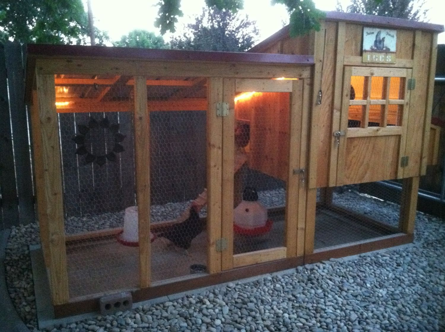 Ventilation For Chicken Houses : Small coop ventilation winterizing suggestions needed