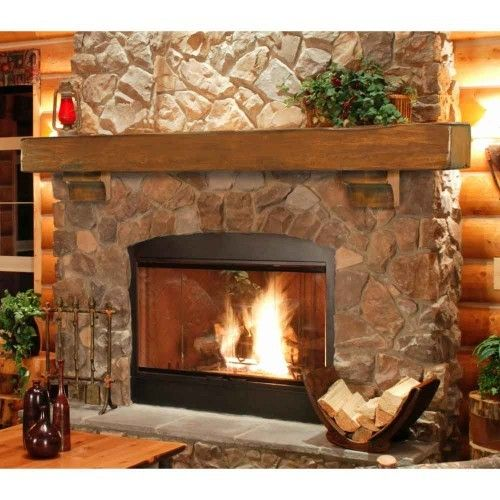 faux fireplace mantels ideas