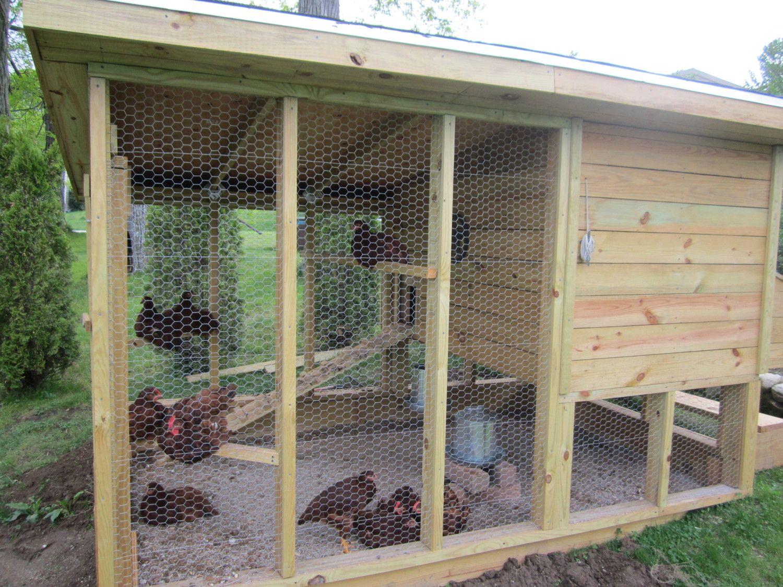 wichita style chicken coop in progress now design ideas welcome chicken coop design ideas - Chicken Coop Ideas Design