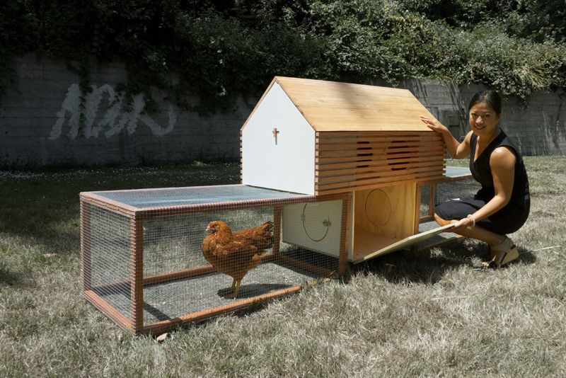 moop the modular chicken coop for design minded urban