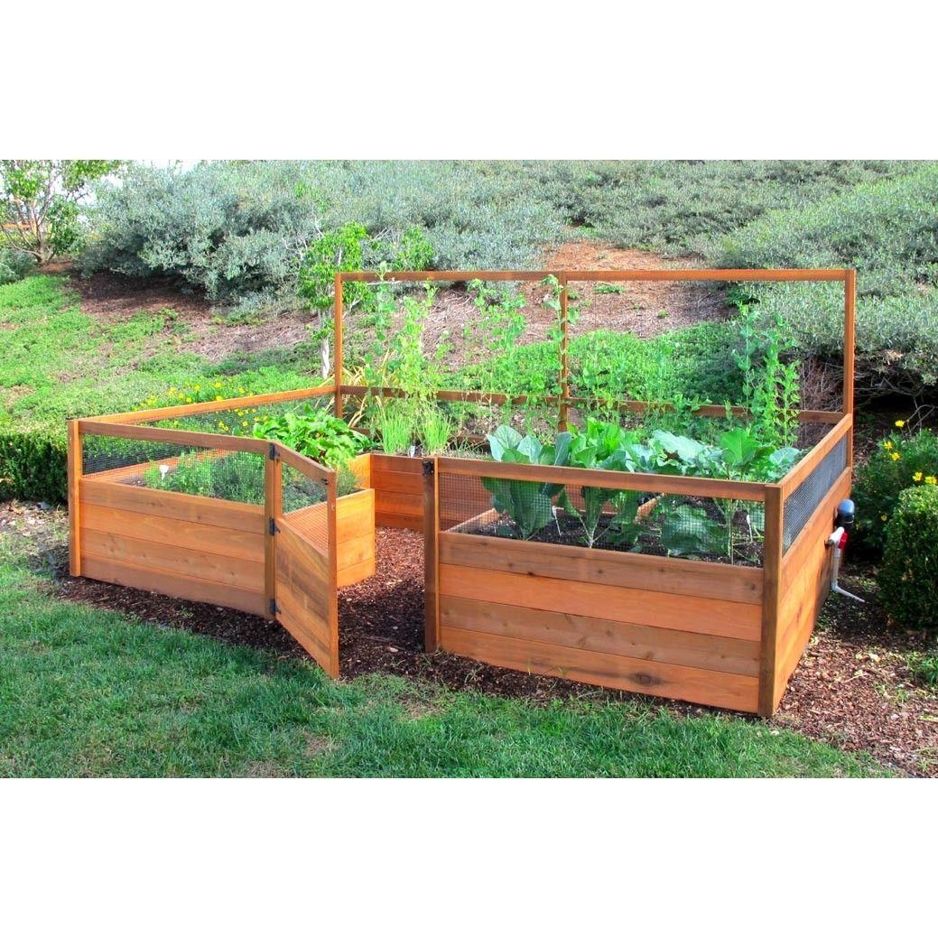 Gardening in run