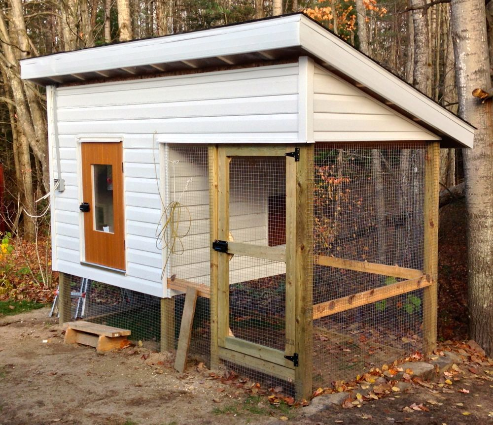 a well insulated chicken coop backyard chickens