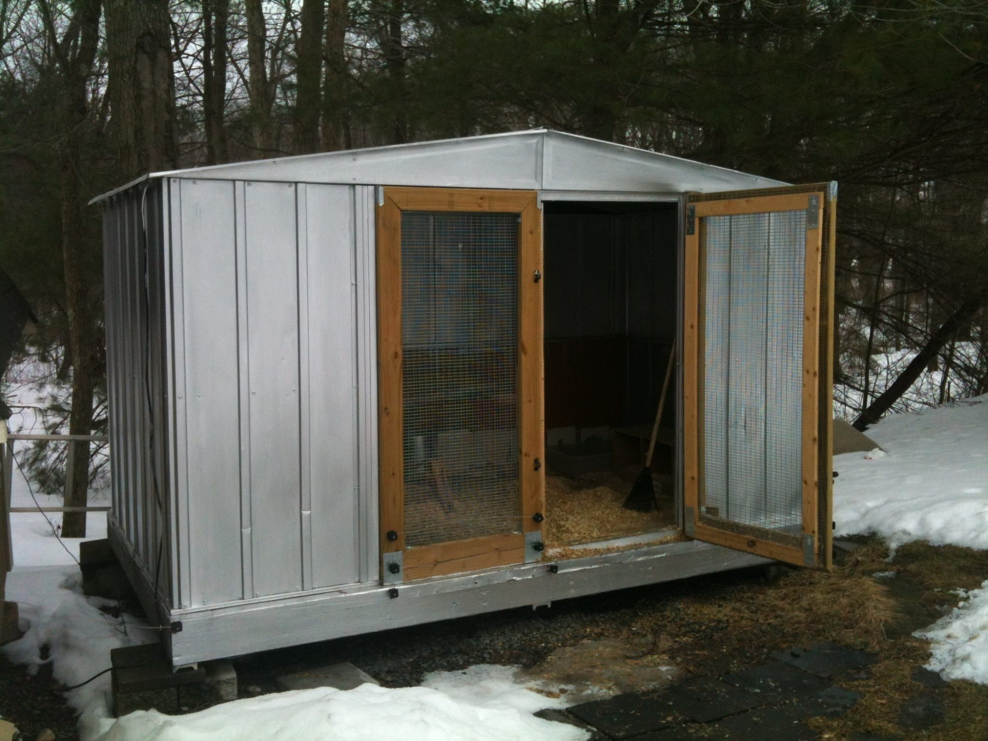 Toy Shed Conversion Backyard Chickens Community