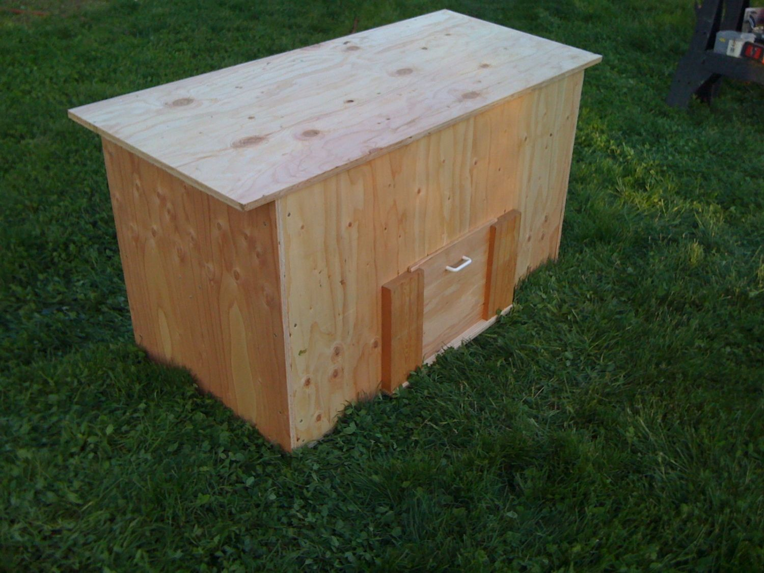 easiest way to build a chicken coop 3