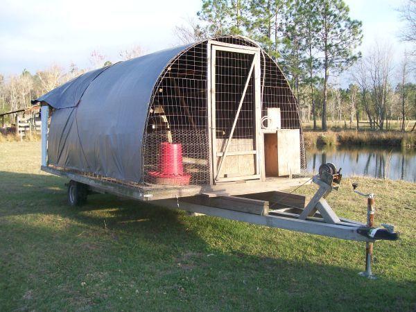 Who has portable chicken coop run for 25 birds page 3 for Small portable chicken coop