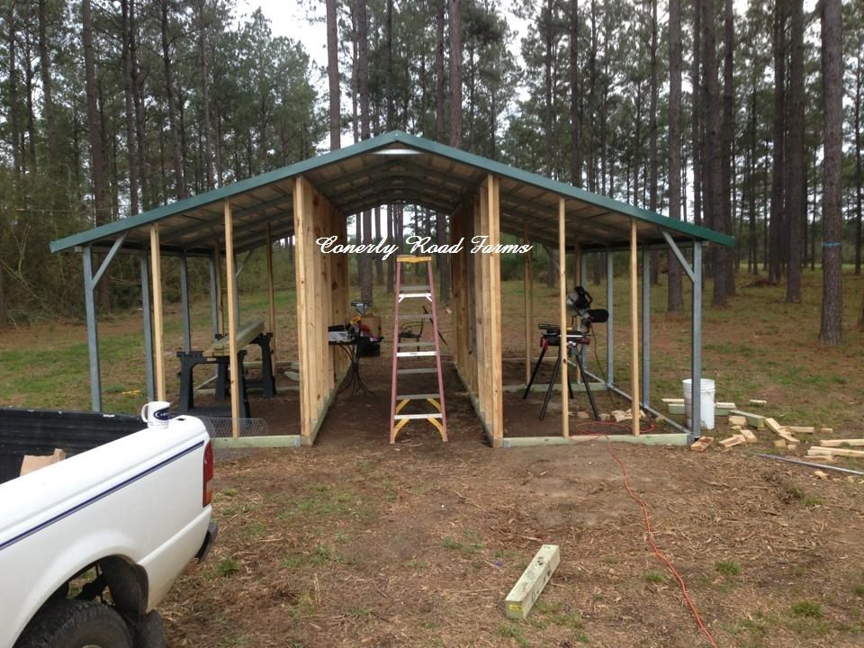 20x24 Metal Carport : Carport coops and barns starting at only down