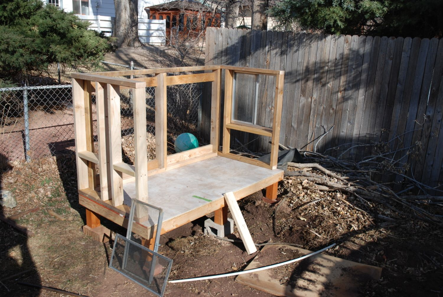 chicken duck coop build pic heavy backyard chickens