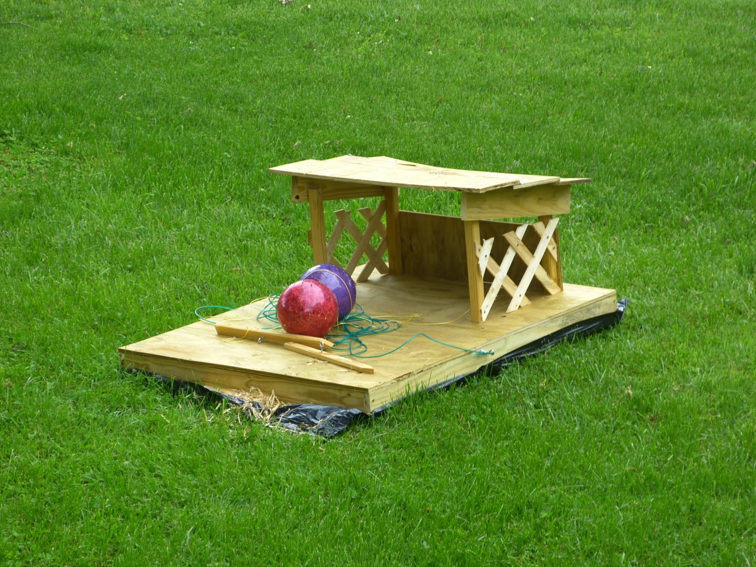 floating duck house backyard chickens