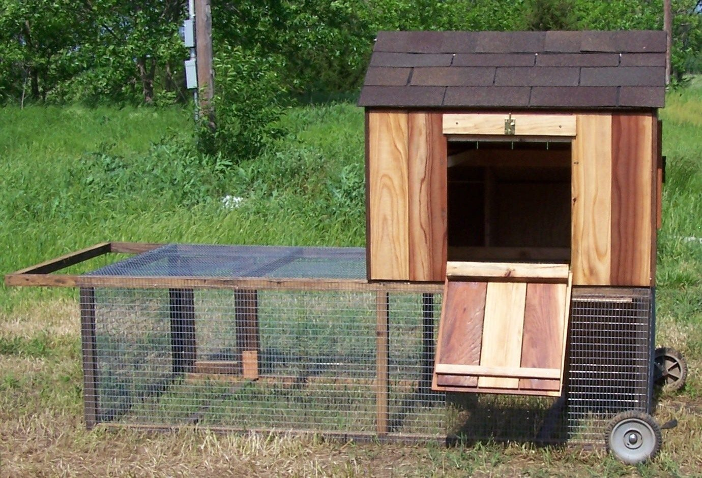 Post your chicken coop pictures here page 62 backyard for Maintenance free chicken coop