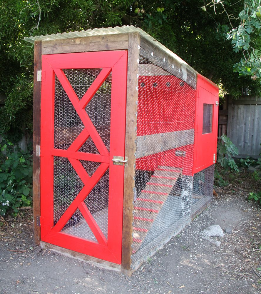 Rustic-Modern Little Red Coop