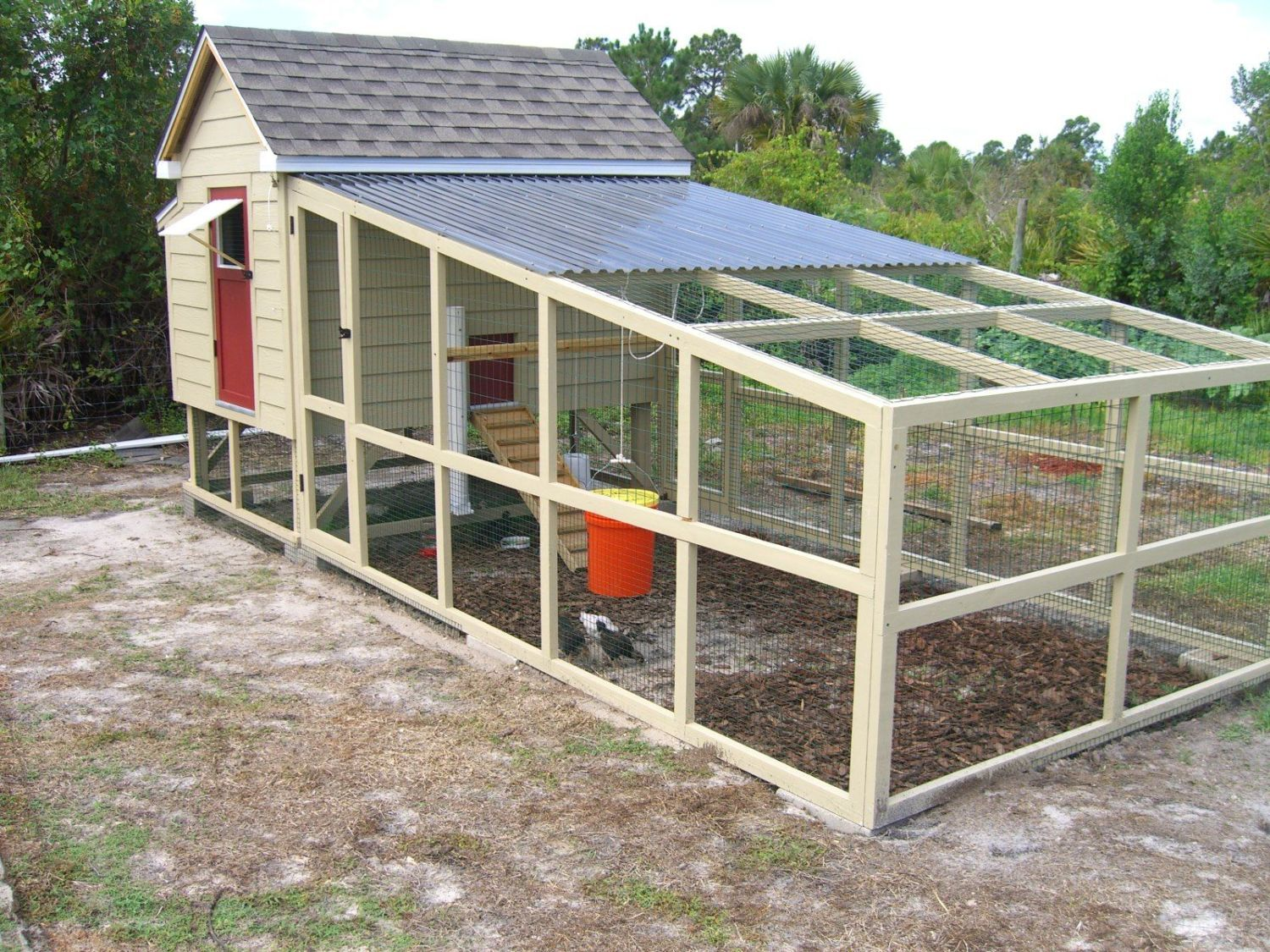 Chicken coop run 6ft x 8ft backyard chickens community for Small chicken coop with run