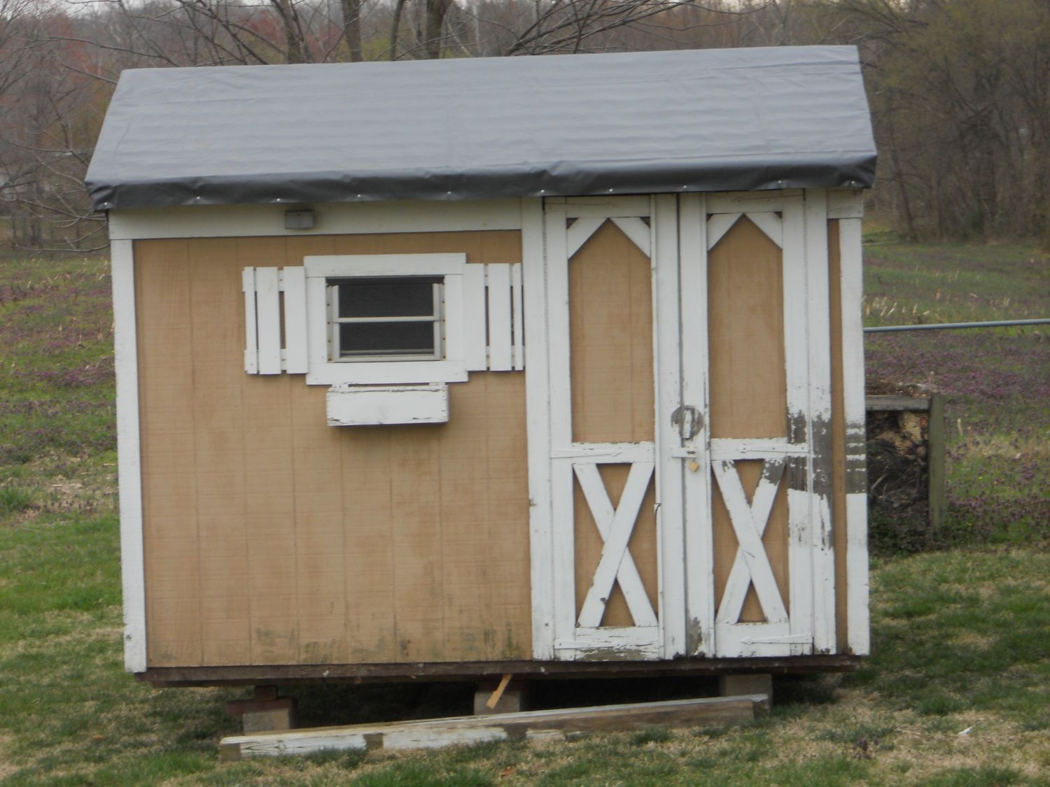 Recycled Coop From Old Yard Barn Backyard Chickens Community