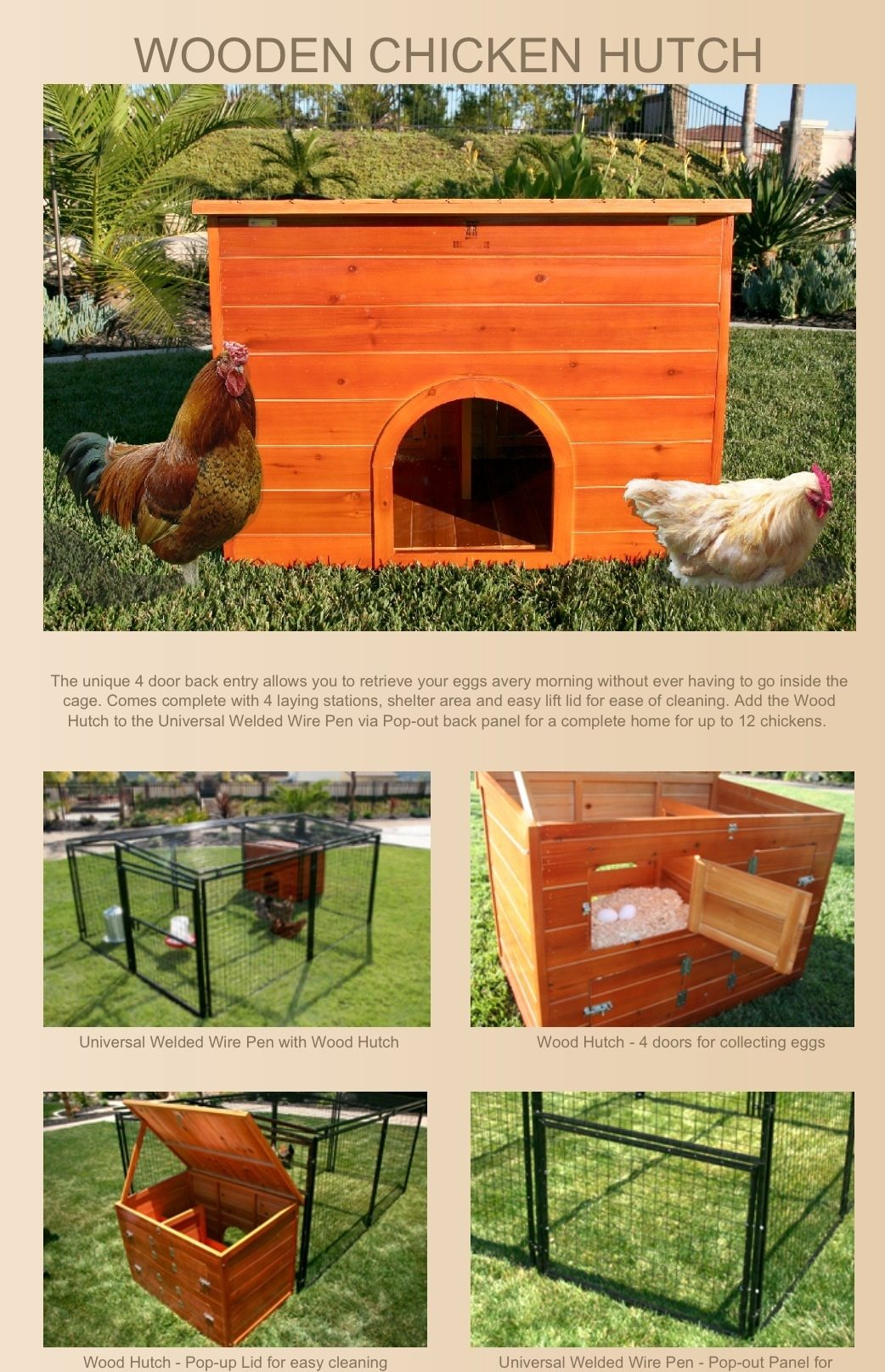 anyone in ct looking for a duck house and run backyard chickens