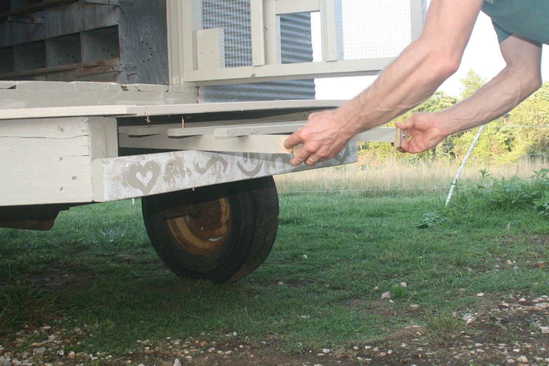 Mobile Hen House Backyard Chickens Community