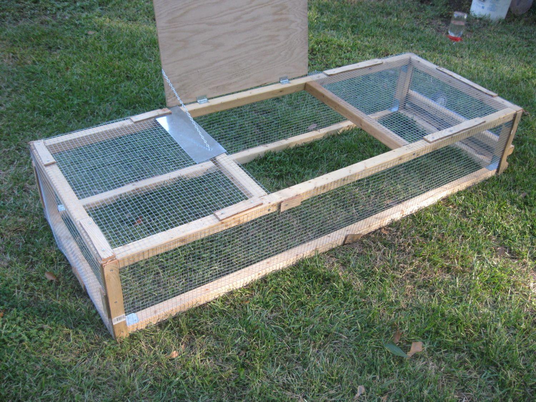 Cage For Coturnix Quail