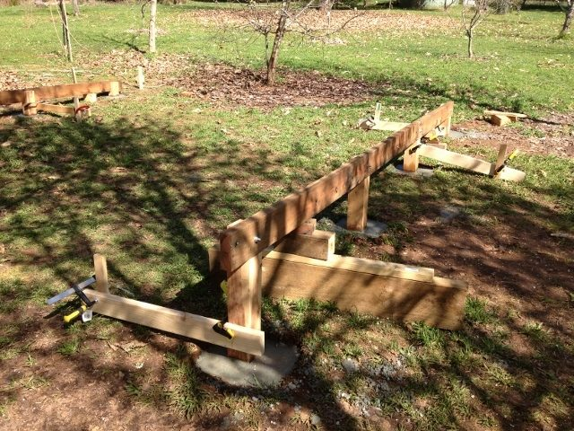 how to build a chook shed