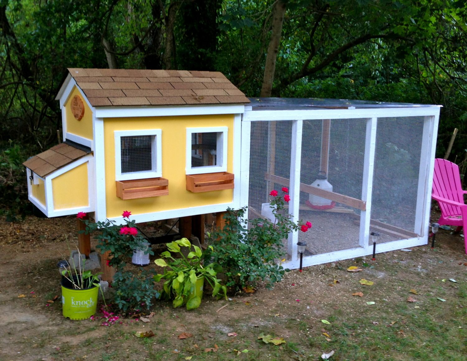 The coop est 2013 backyard chickens community for Cool chicken coop plans