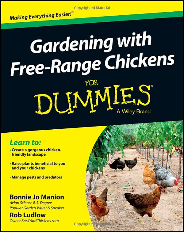 Newest official book of byc gardening with free range for Landscaping for dummies