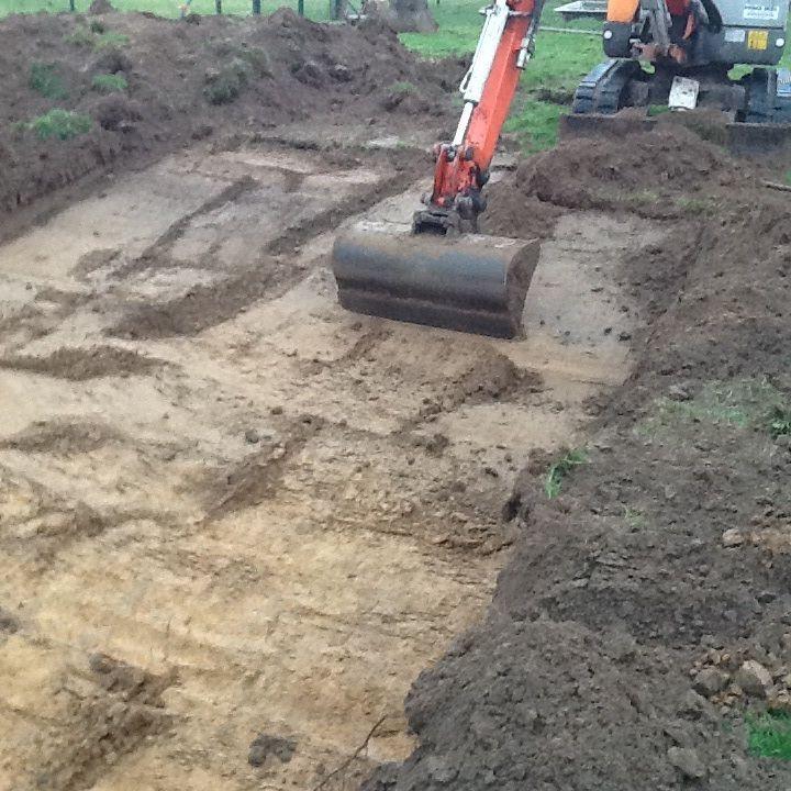 Concrete duck pond construction backyard chickens for Concrete pond construction