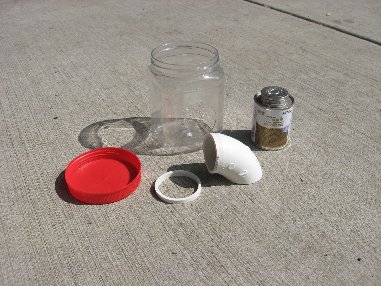 Materials for test chick feeder