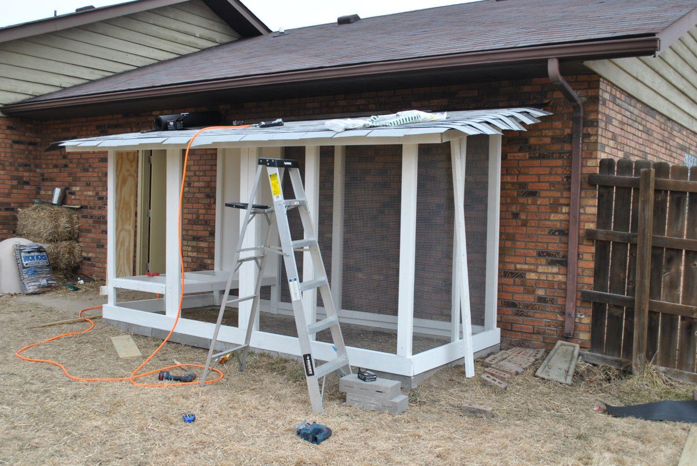 Wichita Cabin Coop Build Journal