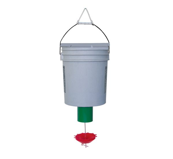 Peckomatic Demand Bird Feeder for Chickens, Ducks, Pigeons, Pheasants, Swans..........www.peckomatic.com