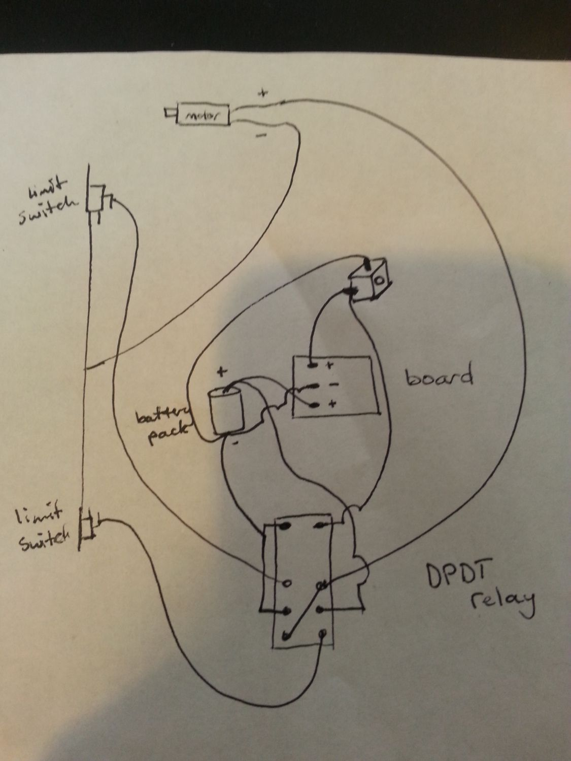 Automatic Coop Door Backyard Chickens Single Pole Double Throw Limit Switch Wiring Diagram Now Look At Your Screwdriver Innards You Will See The Control Board Plug Jack Motor And Batteries We Wont Need Since Use Our