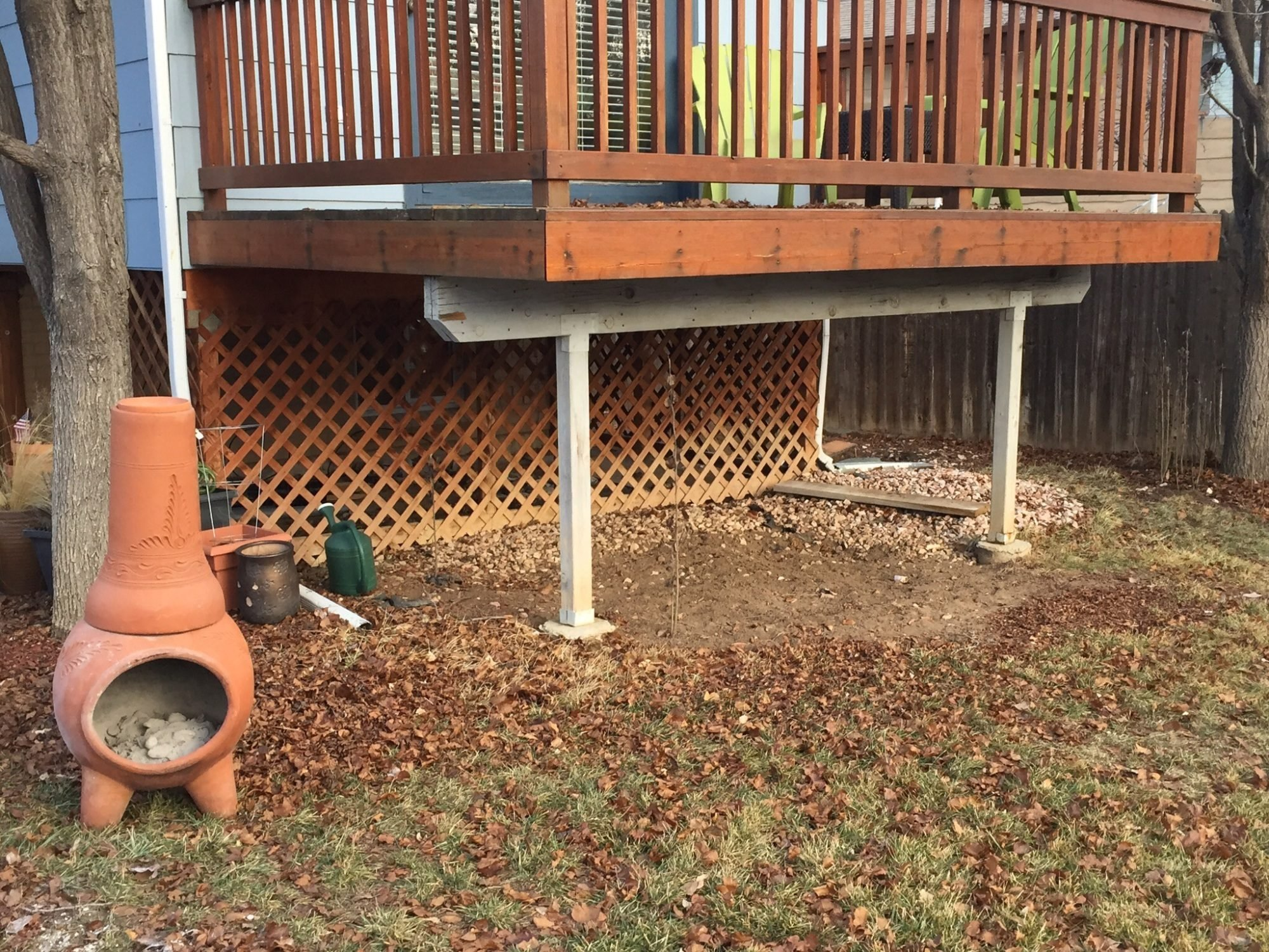 advice on how to build a coop under my deck backyard chickens