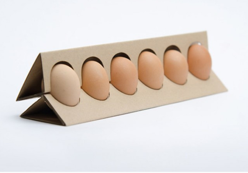 how to make a rooster out of egg cartons