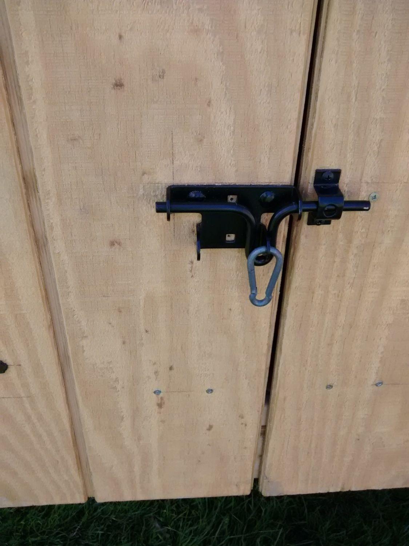 help me fix my door latch issue backyard chickens